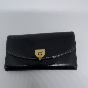 Kenneth Cole Black Genuine Leather Wallet